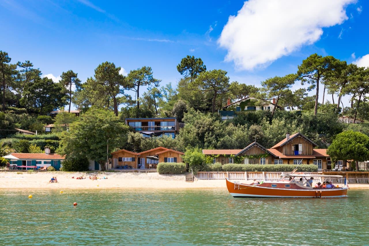 La presqu'ile du Cap Ferret et ses villages