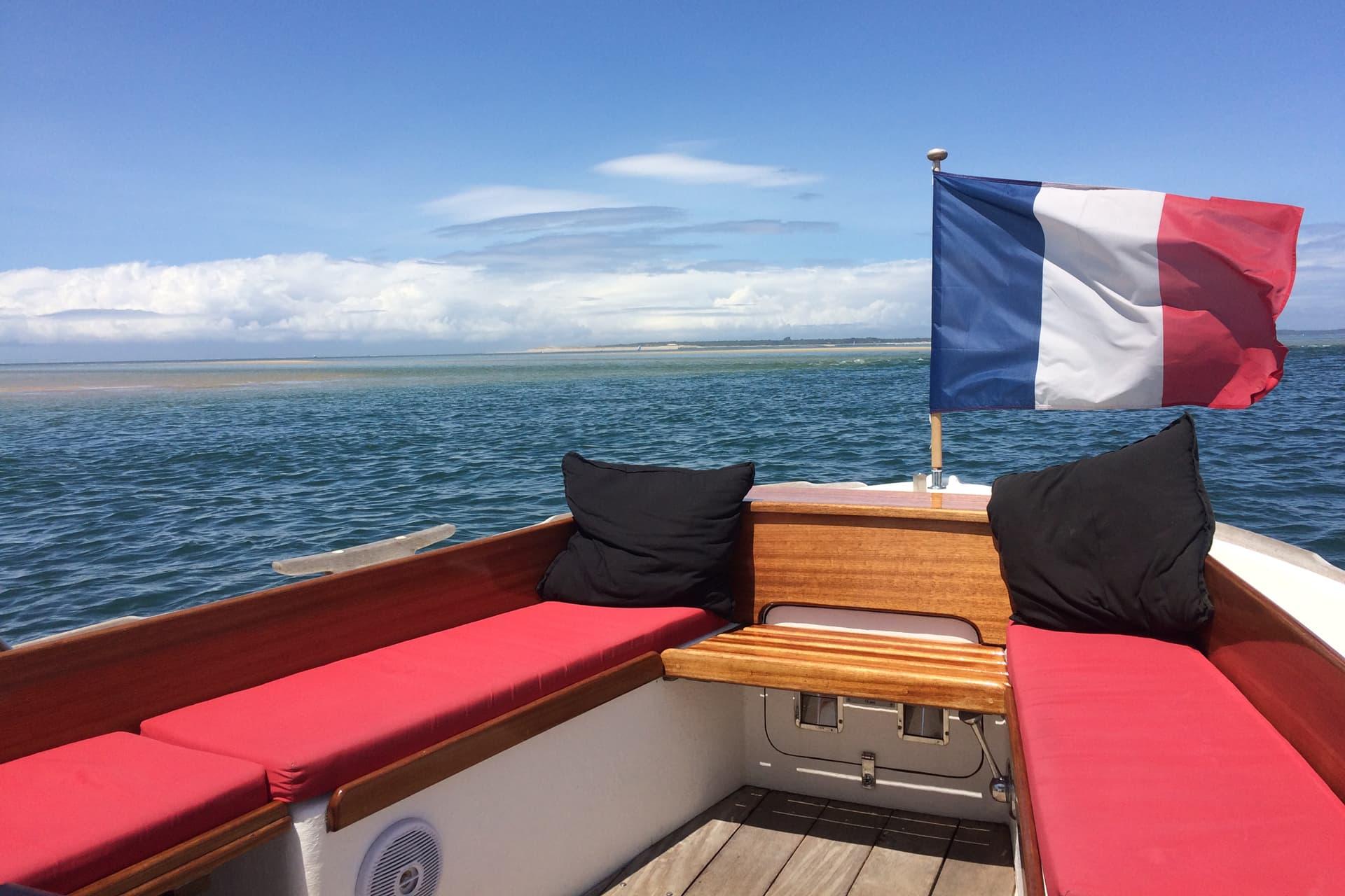 Balade en bateau au petit-déjeuner sur le bassin d'Arcachon
