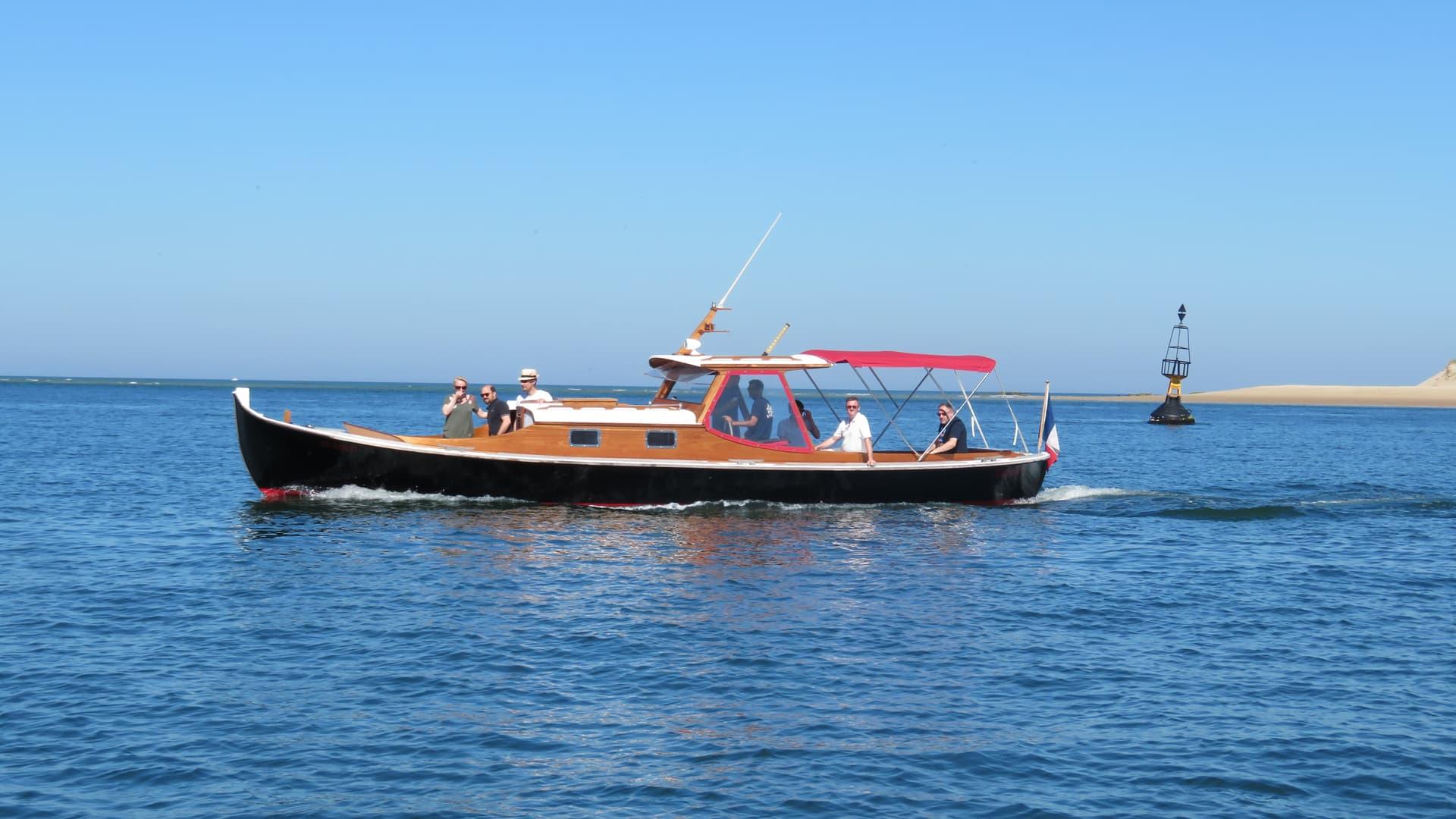 Grand tour du bassin d'Arcachon en bateau